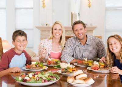 алгоритм питание детей и подростков
