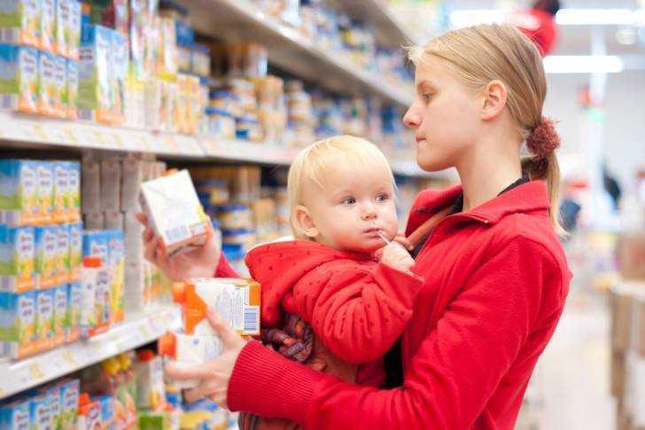 аллергия у детей на детское питание