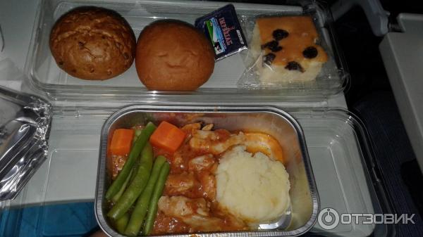 авиакомпания россия питание для детей