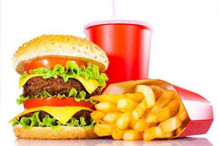 черный список продуктов питания для детей