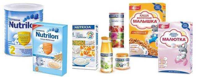 детское питание для набора веса для детей
