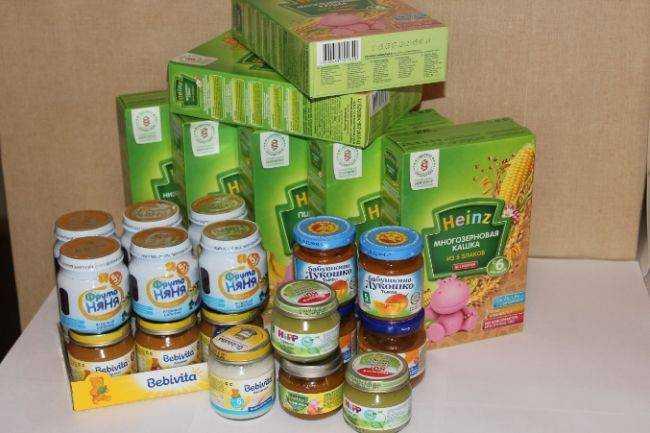детское питание для ослабленных детей