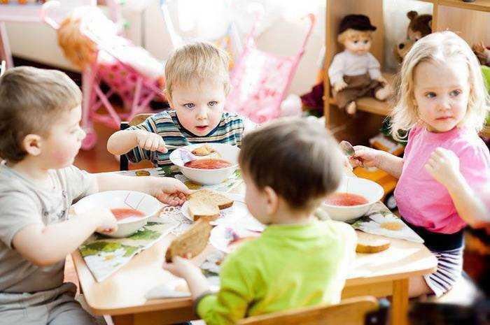 для питания детей разрешается использовать посуду
