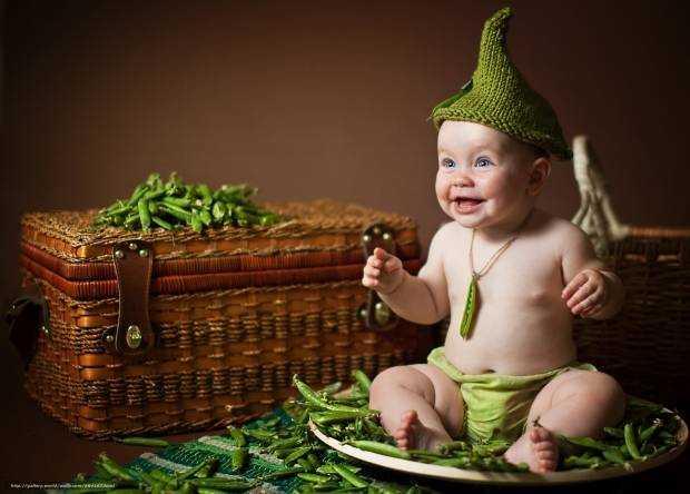 горох в детском питании детей после одного года