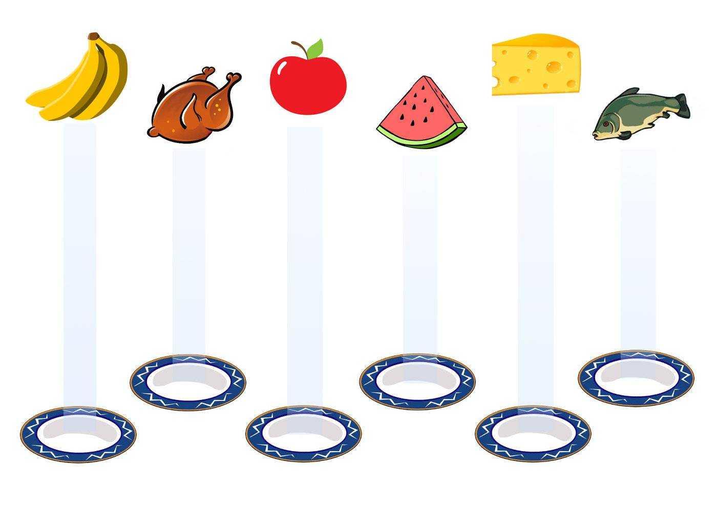 игры для детей по культуре питания