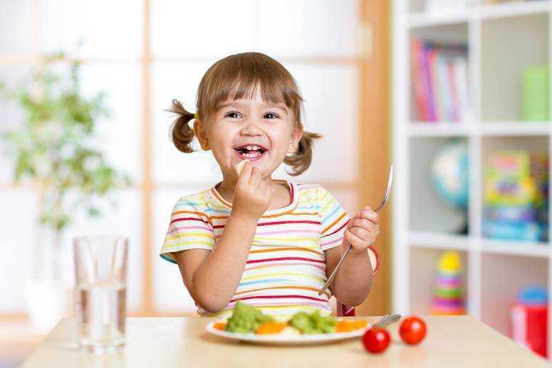 информация о здоровом питании для детей