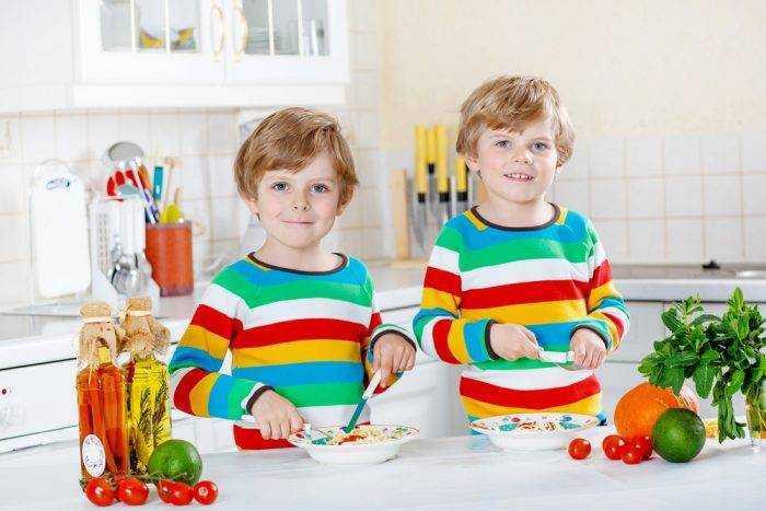 как организовать правильное питание детей