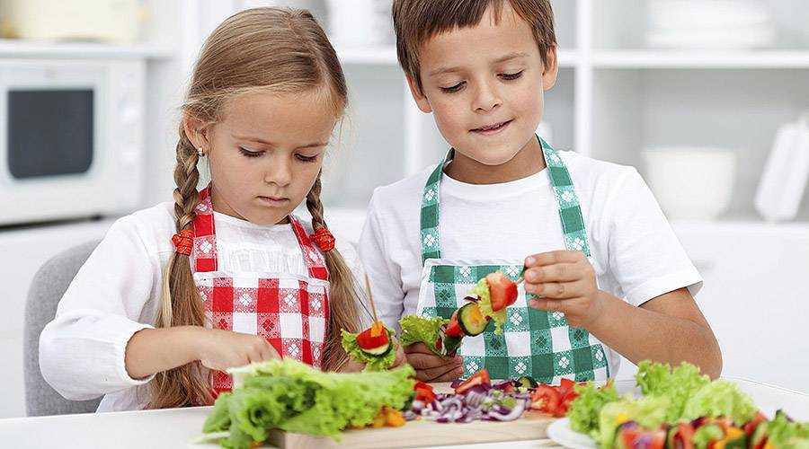как привить культуру питания детям