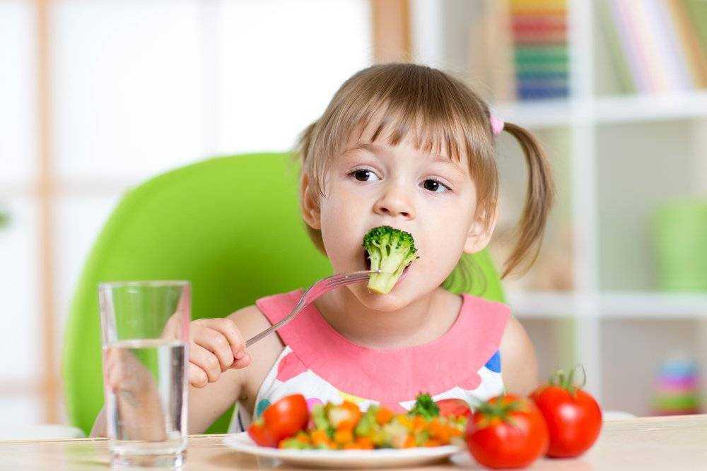 как влияет правильное питание на здоровье детей