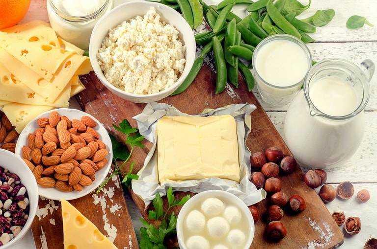 кальций в продуктах питания детям