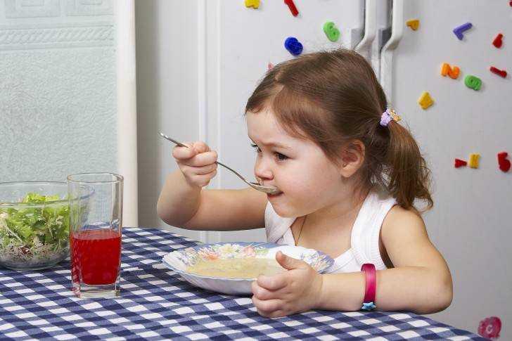 калуга питание детей после года