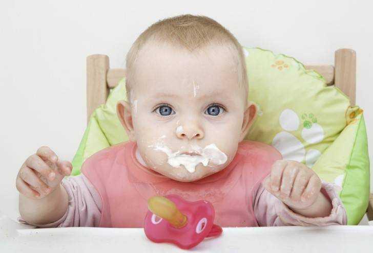 каши в питании детей первого года жизни