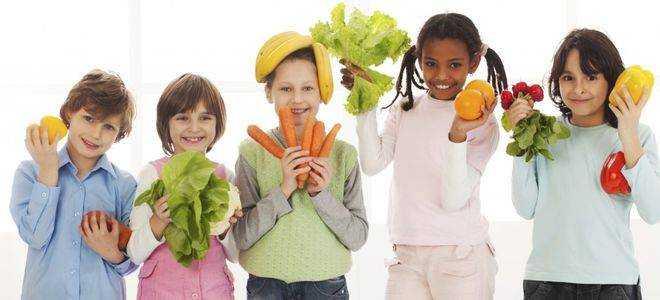 консультация для родителей о питании детей летом