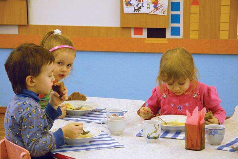контроль за питанием детей