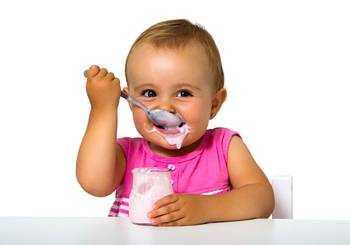 молочнокислые продукты в питании детей