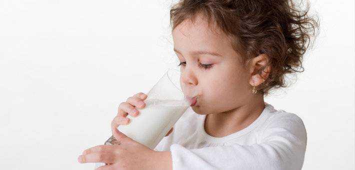 молоко и молочные продукты в питании детей