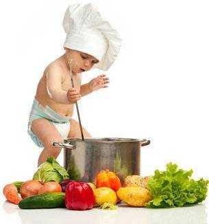 не правильное питание для детей