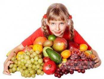 норма продуктов питания для детей школьного возраста