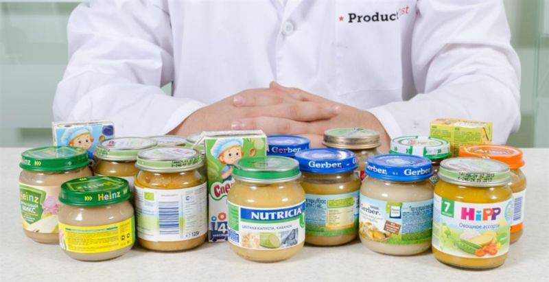 новые виды продуктов питания для детей