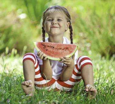 о пользе правильного питания для детей