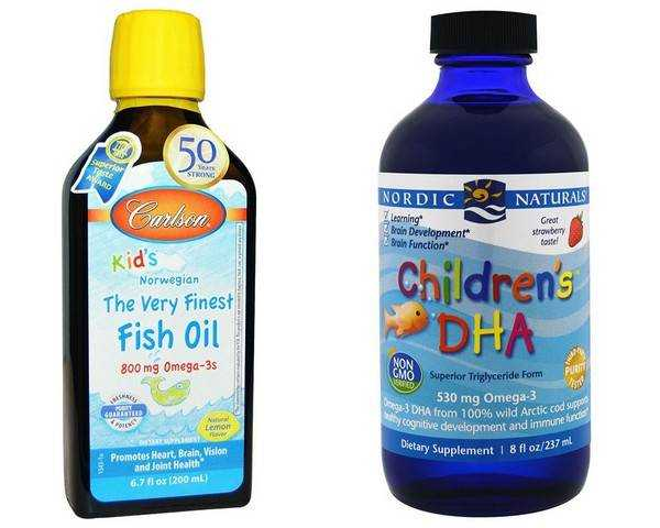 омега 3 в питании детей