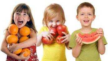 основные правила питания для детей