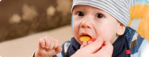 особенности питания детей первого года жизни