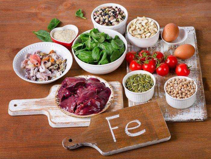 особенности питания детей при железодефицитной анемии