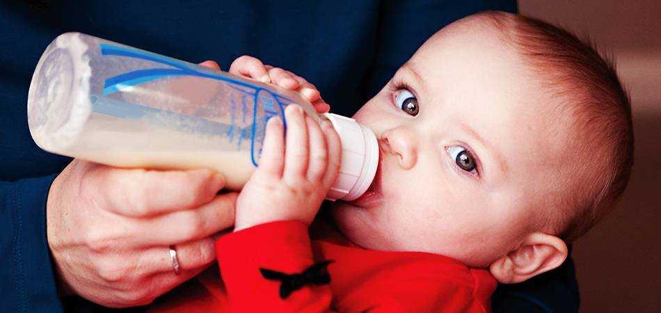 питание детей на искусственном вскармливании