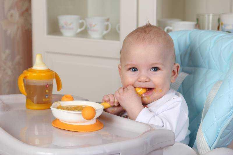 питание детей с 7 месяцев на искусственном вскармливании