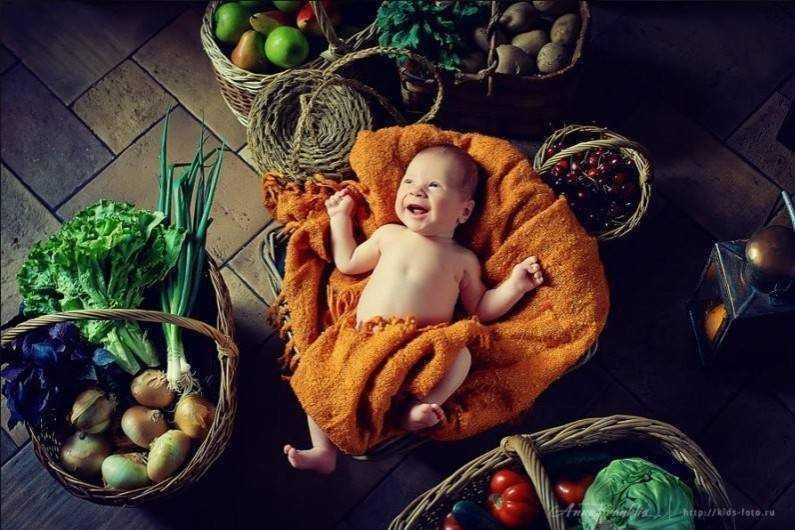 питание детей сыроедов от года