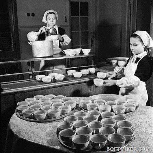 питание детей в ссср