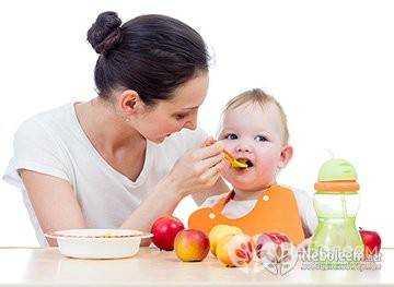питание для 8 месячных детей