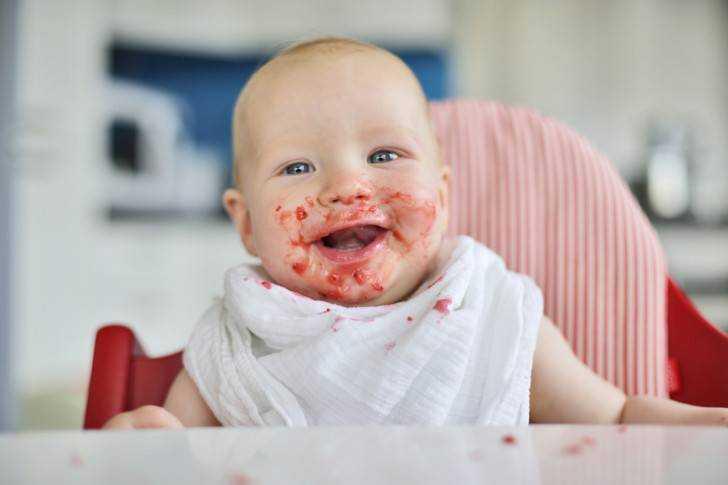 питание для детей с 8 месяцев