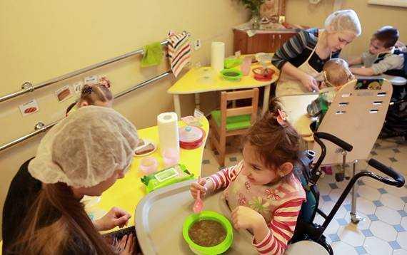питание для детей с дцп