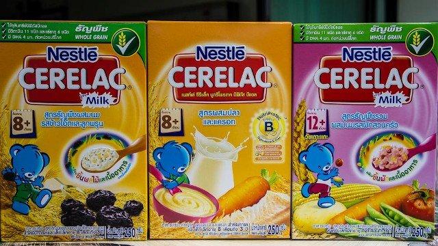 питание для детей в таиланде