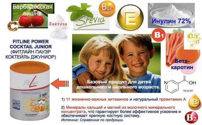 питание для ослабленных детей джуниор
