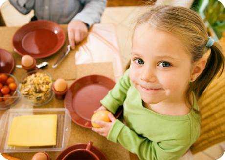 питание для восстановления желудка у детей