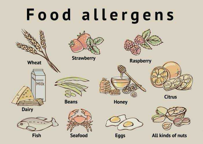 питание грудных детей при аллергии