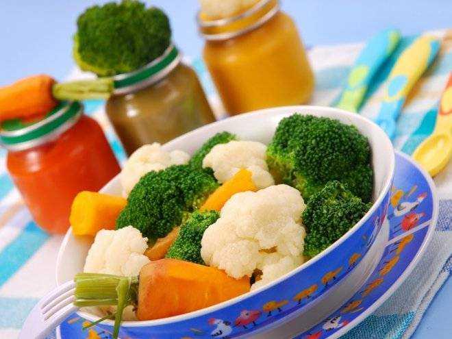 питание из баночек для детей