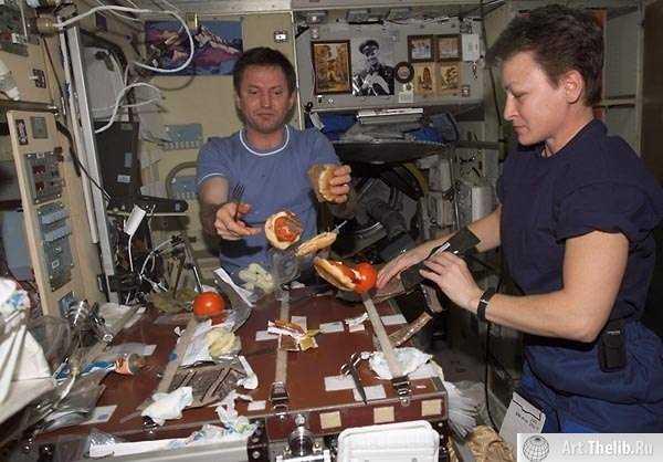 питание космонавтов в космосе для детей
