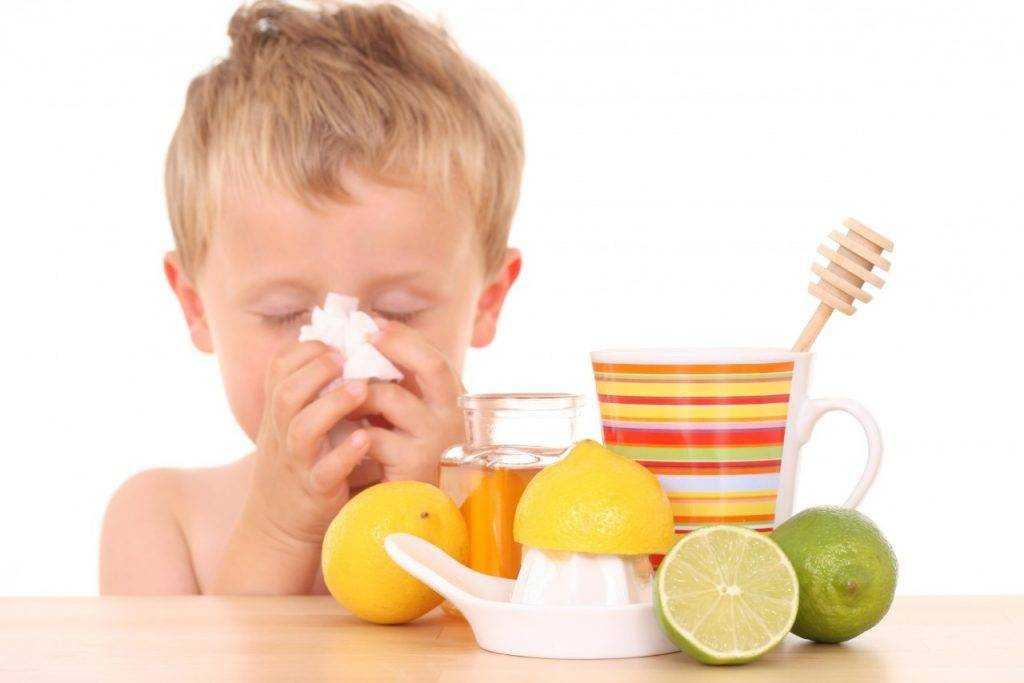 питание при гриппе у детей