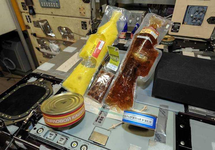 питание в космосе для детей