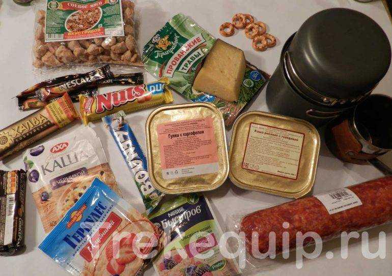 питание в походе для детей