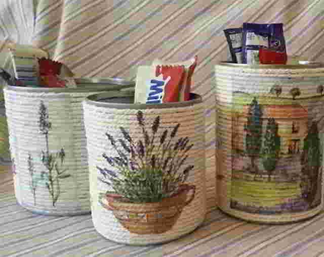 поделки для детей из баночек детского питания
