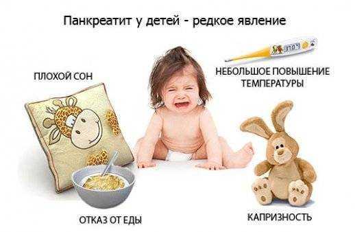 поджелудочная у детей лечение и питание