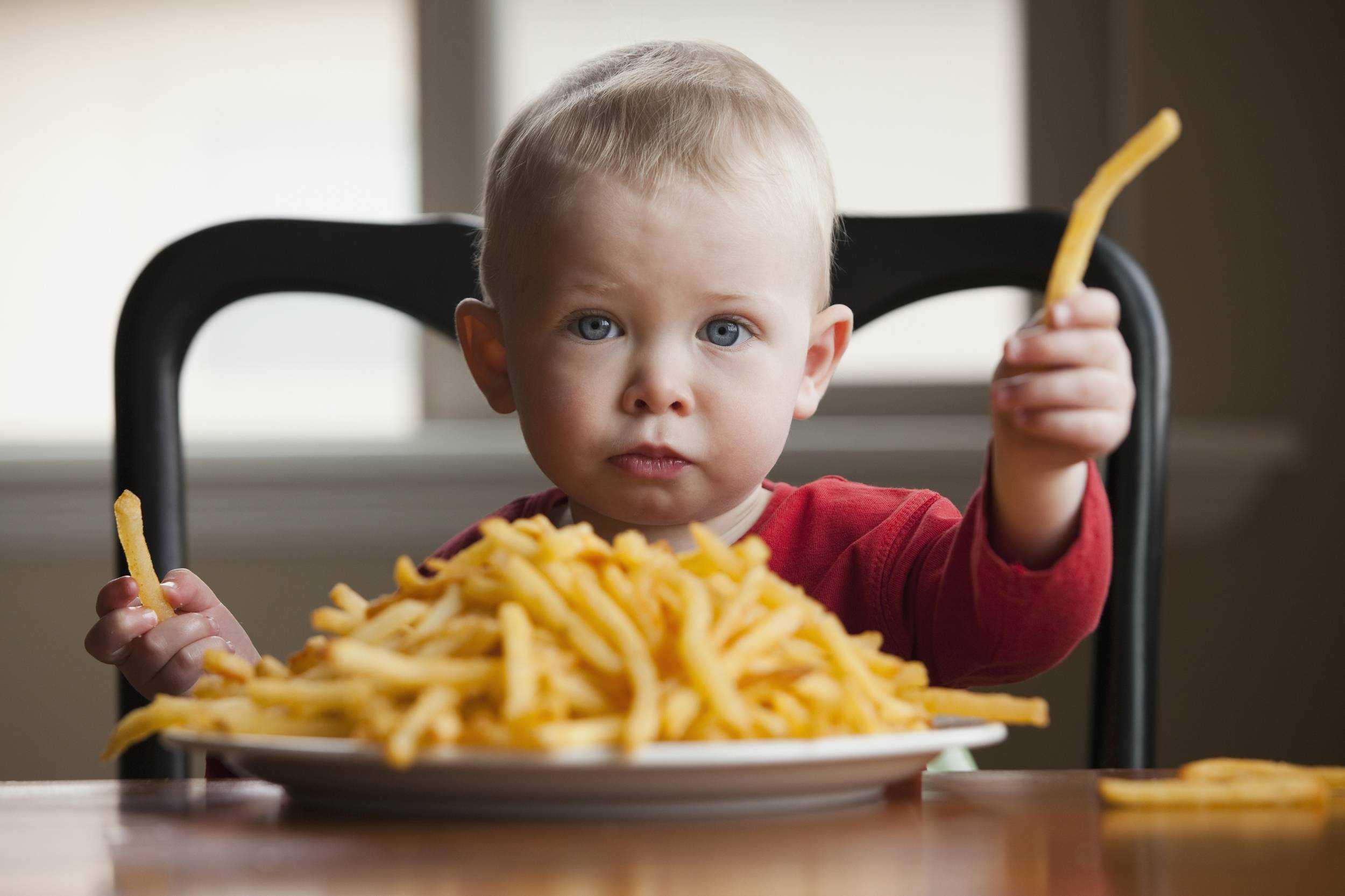 правильное питание при ожирении у детей