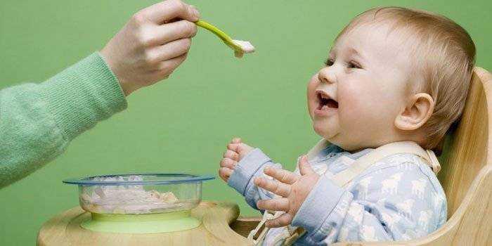 рацион питания детей в 10 месяцев