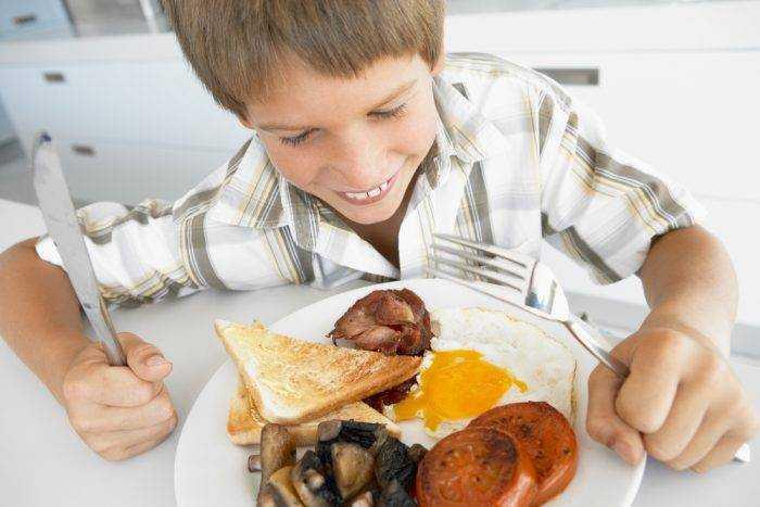 рацион питания для детей 10 лет