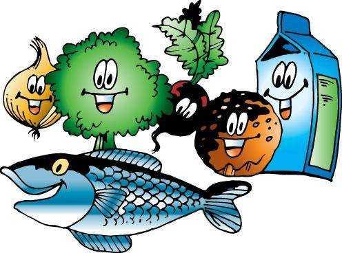 рисунок на тему здоровое питание глазами детей